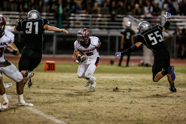 Green Valley took down Coronado by a score of 18-7 ion Friday night. (Donavon Lockett/Las Vegas Review-Journal)