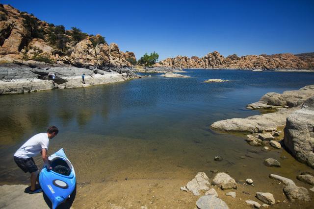 Watson Lake outside Prescott, Ariz. as seen Saturday, June 1 ,2014. The city-owned park is popular for outdoor activities.  (Jeff Scheid/Las Vegas Review-Journal)