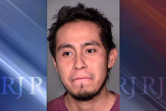 Andres Gaona-Garcia (courtesy Las Vegas Metropolitan Police Department)