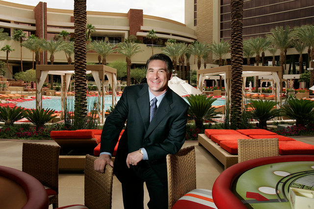 Scott Kreeger is shown at Red Rock Resort in 2006. SLS Las Vegas announced Monday that Kreeger will become president at the newly opened Strip hotel-casino, taking over for Rob Oseland. (John Loch ...