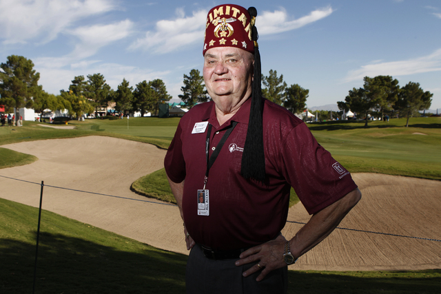 Gary Dunwoody, chairman of the Shriners Hospitals for Children Open, poses a portrait at TPC Summerlin, 1700 Village Center Circle, in Las Vegas Thursday, Oct. 16, 2014. (Erik Verduzco/Las Vegas R ...