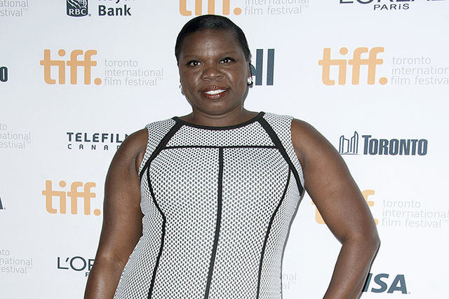 """Actress Leslie Jones poses at the """"Top Five"""" premiere at the Princess of Wales Theatre during the 2014 Toronto International Film Festival in Toronto, Sept. 6, 2014. NBC says """"Saturday Night Live"""" ..."""