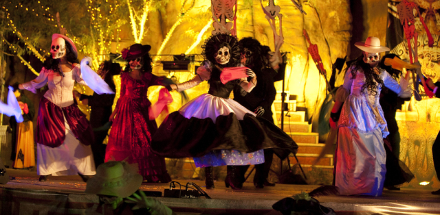 Springs Preserve hosts its annual Dia de los Muertos festival Saturday and Sunday. Courtesy photo.