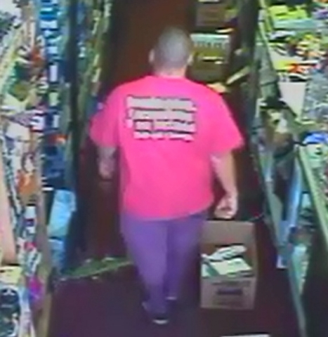 Las Vegas police are looking for a suspect in a late September robbery in southwest Las Vegas. (Courtesy/Las Vegas Metropolitan Police)