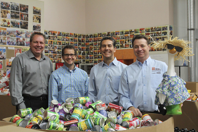 The SK+G Goose Summer Road Trip Campaign wrapped up Sept. 11 when senior vice president of strategy Jim Gentleman and the SK+G Goose dropped off a $1,000 check to Three Square food bank. Spanning  ...