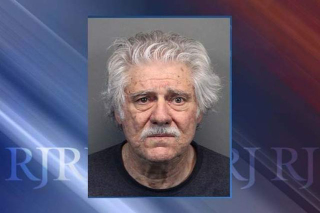 Wayne Burgarello, 73, of Sparks, is charged with murder in the shooting of an unarmed trespasser. His trial is set to begin Jan. 20. (AP Photo/Washoe County Sheriff's Office file)