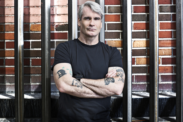 """Henry Rollins hosts H2's """"10 Things You Don't Know About."""" ©2013 A+E Networks, LLC. / Photo credit: Karolina Wojtasik"""