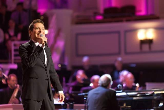 "Michael Feinstein, shown here in a file photo, will headline The Smith Center's second annual New Year's Eve concert, joined by Broadway's Laura Osnes and ""American Idol's"" Jessica Sanchez. (Zach  ..."