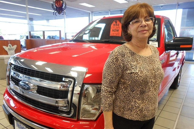 Longtime Friendly Ford employee Geri Bich will be adopting another cat Oct. 25 when Friendly Ford hosts its Paws for the Cause cat and dog adoption at the dealership at 660 N. Decatur Blvd. (Courtesy)