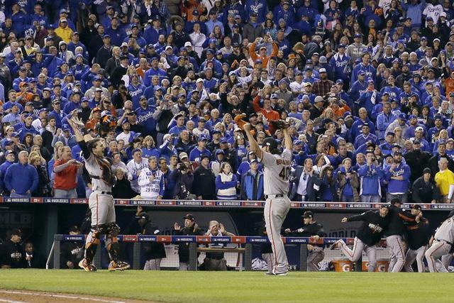 Giants win World Series