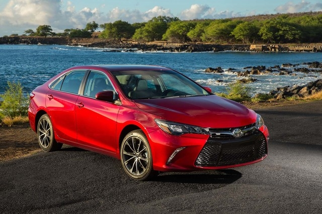 Upgraded with a design overhaul and impressive new features, the 2015 Camry could approach sports-car levels in the hearts of consumers. (Courtesy)
