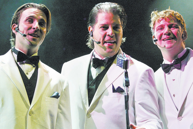 """George Bugatti, center, performs in 2008 in Las Vegas. """"The Wonderful Wizard of Song: The Music of OZ composer Harold Arlen"""" will begin a three-day run Oct. 17 at The Smith Center. (Las Vegas  ..."""