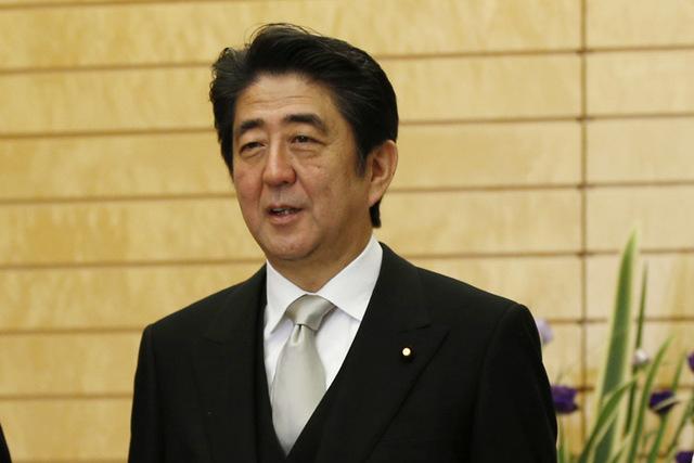 Japan's Prime Minister Shinzo Abe has made casino expansion part of his legislative agenda  (AP Photo/Toru Hanai, Pool)