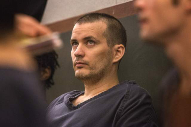 Gabriel Yates as seen Wednesday, Sept. 18, 2013 in Regional Justice Center. (Jeff Scheid/Las Vegas Review-Journal)