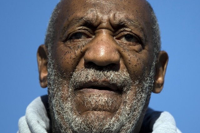 This Nov. 11, 2014, file photo shows entertainer and Navy veteran Bill Cosby speaking during a Veterans Day ceremony, at the The All Wars Memorial to Colored Soldiers and Sailors in Philadelphia.  ...