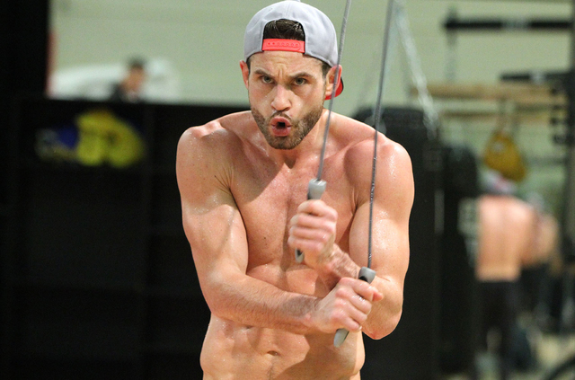 Chris Algieri skips rope Wednesday in Macau during his final day of training for Saturday's bout against Manny Pacquiao. Algieri, the World Boxing Organization junior welterweight champion, plan ...