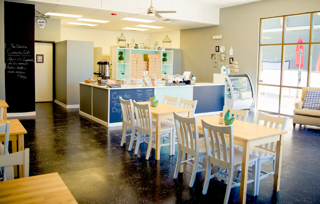 Bakeshop, 2550 Anthem Village Drive, Suite 190, in August, offering customers a home away from home. The shop is family-owned and run by Southwest Las Vegas residents Samantha, Beth, Kristin and J ...