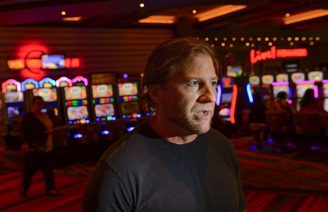 Joseph Weinberg, President of the gaming and lodging portion of the Cordish Company talks about gaming at the Maryland Live Casino located in suburban Baltimore on Monday, May 19, 2014.   (Doug Ka ...