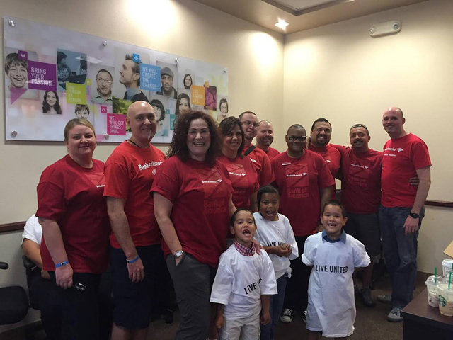 Bank of America's LGBT advocacy and awareness organization, Ally, recently joined forces with United Way of Southern Nevada to provide dental care necessities to children in need within the comm ...