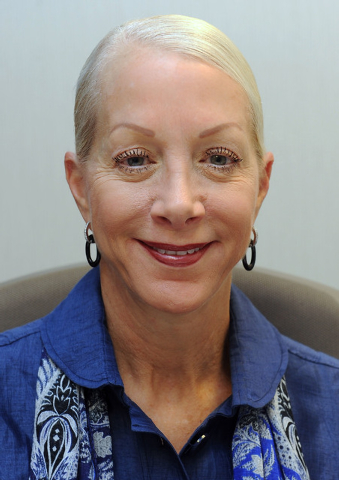 Shelly Gitomer is  the vice president of corporate philanthropy for MGM-Mirage Corporation. (Jerry Henkel/Las Vegas Review-Journal)