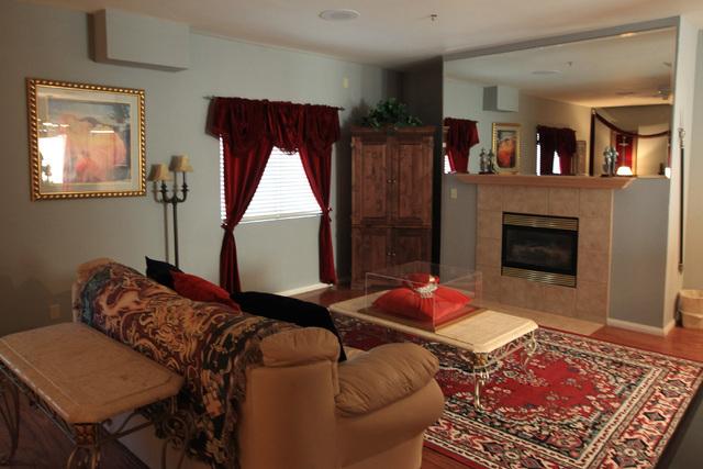 The King Arthur suite is seen at Sheri's Ranch brothel in Pahrump Wednesday, Nov. 26, 2014. (Sam Morris/Las Vegas Review-Journal)