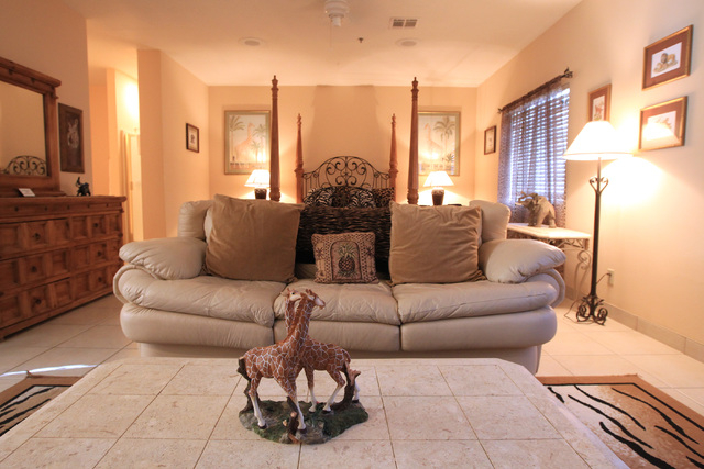 The safari suite is seen at Sheri's Ranch brothel in Pahrump Wednesday, Nov. 26, 2014. (Sam Morris/Las Vegas Review-Journal)