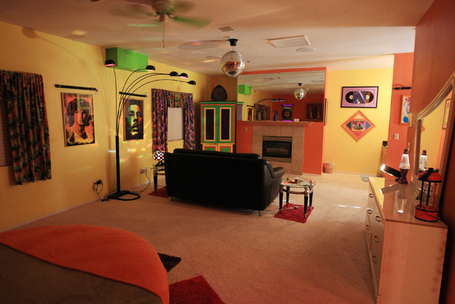 The 1960's themed suite is seen at Sheri's Ranch brothel in Pahrump Wednesday, Nov. 26, 2014. (Sam Morris/Las Vegas Review-Journal)