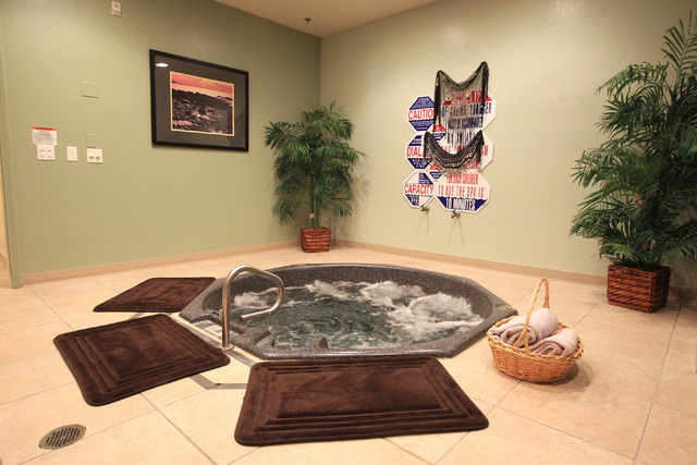 This is the jacuzzi and sauna fantasy room of Sheri's Playland at Sheri's Ranch brothel in Pahrump Wednesday, Nov. 26, 2014. (Sam Morris/Las Vegas Review-Journal)