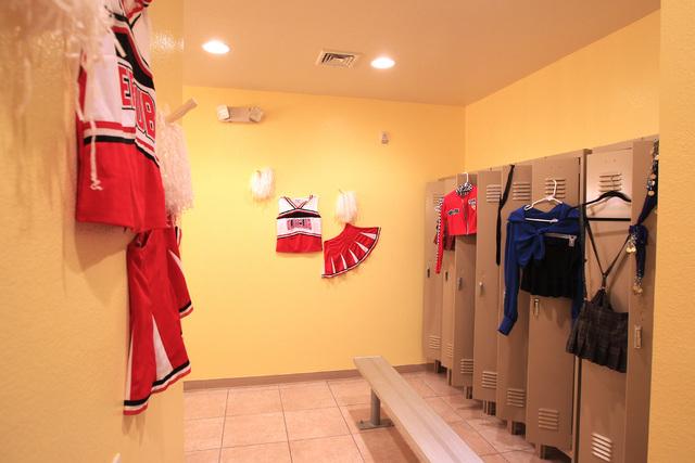 This is the women's locker room fantasy room of Sheri's Playland at Sheri's Ranch brothel in Pahrump Wednesday, Nov. 26, 2014. (Sam Morris/Las Vegas Review-Journal)