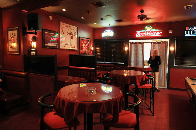 This is the bar and restaurant at Sheri's Ranch brothel in Pahrump Wednesday, Nov. 26, 2014. (Sam Morris/Las Vegas Review-Journal)