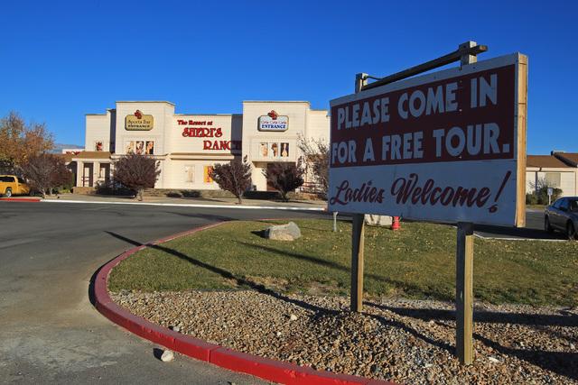 Sheri's Ranch brothel in Pahrump is seen Wednesday, Nov. 26, 2014. (Sam Morris/Las Vegas Review-Journal)