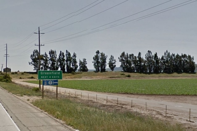 A wooded area outside of Greenfield, Calif. (Courtesy, Google Maps)