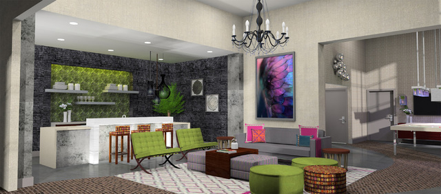 Artists rendering of an apartment in The Constellation project, planned for Downtown Summerlin. Submitted Friday Oct. 31, 2014. (Courtesy photo)