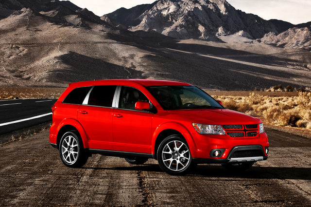 Courtesy photo The 2014 Dodge Journey, which is the most affordable seven-passenger crossover on the market.