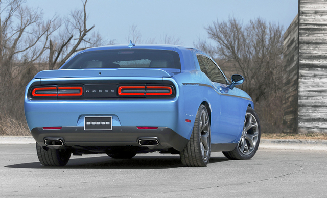 Courtesy photo The Hellcat has a claimed top speed of 199 mph as well as special front bodywork and an aluminum hood that helps evacuate hot air from the engine compartment. Those are 20-inch Pire ...