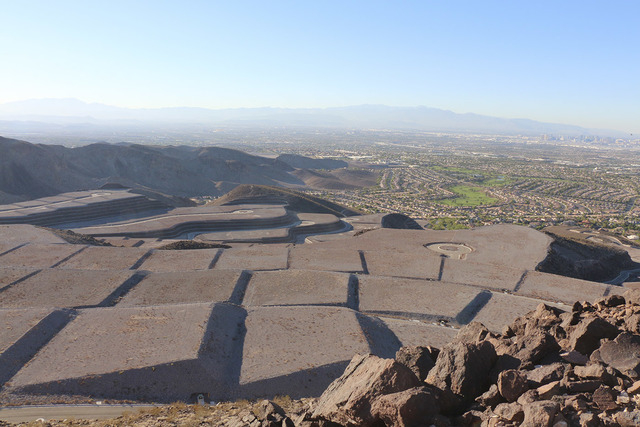 Greg Thilmont/Real Estate Millions Ascaya in Henderson has started selling half-acre lots for luxury homes.