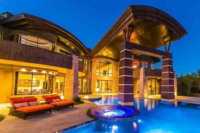 Inside las vegas most expensive homes photos las for Most expensive homes in las vegas
