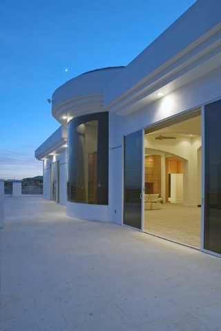 Courtesy photo The master bedroom has a large balcony.