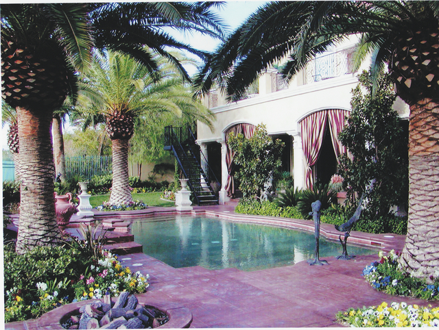 Robert Bero's Chateau Development built this 16,000-square foot mansion in Tournament Hills in Summerlin about six years ago for a casino owner and his family. He said the owner wanted to be on th ...