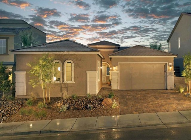 Courtesy photo  The Hudson model is offered at Ryland Homes' Zephyr Ridge neighborhood in Henderson.