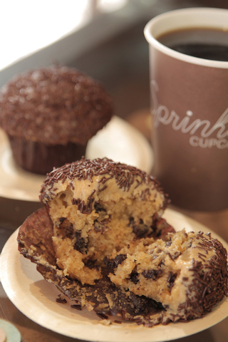 Peanut Butter Chip Cupcake, Sprinkles Cupcakes, The Linq (Courtesy)