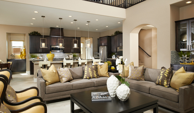 Richmond american s monte bello offers variety las vegas for American home builders reviews