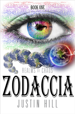 """""""Zodaccia: Realms of Chaos,"""" a fantasy book by Las Vegas author Justin Hill, introduces readers to a war between good and evil in a realm invisible to the human eye in a reality parallel but s ..."""