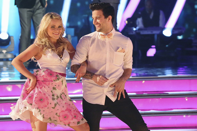 "Witney Carson and Mark Ballas are the first dancers announced for the ""Dancing with the Stars"" national tour. (Adam Taylor/ABC)"