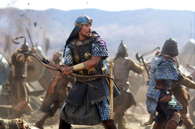 "Christian Bale stars as Moses in ""Exodus: Gods and Kings."" (Courtesy)"