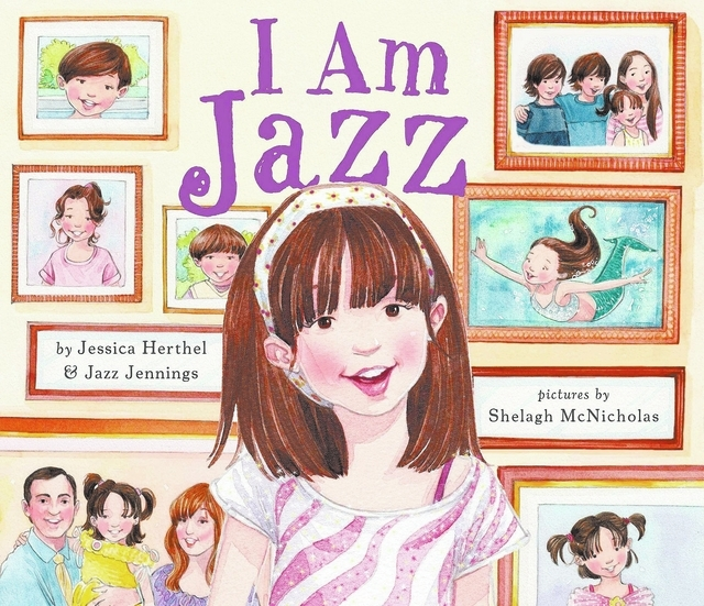 "In the new book ""I Am Jazz"" by Jessica Herthel and Jazz Jennings, with pictures by Shelagh McNicholas, readers will learn about a girl who's just like other girls … only different. (Specia ..."