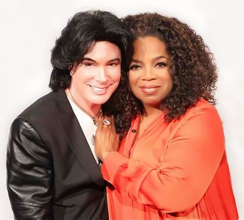 Frank Marino and Oprah Winfrey are working on a secret project. (Courtesy)