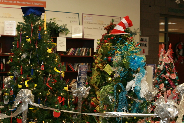 The Library Tree Lane Gala is scheduled to celebrate its 10th anniversary Dec. 6 at the Paseo Verde Library, 280 S. Green Valley Parkway. The annual gala is a fundraiser for Henderson Libraries. ( ...