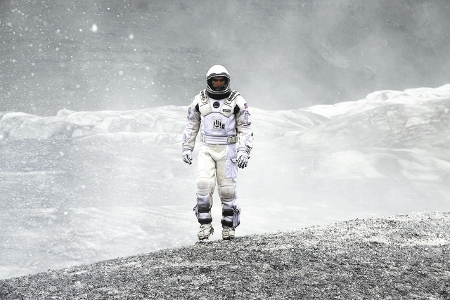 Matthew McConaughey in INTERSTELLAR, from Paramount Pictures and Warner Brothers Entertainment.