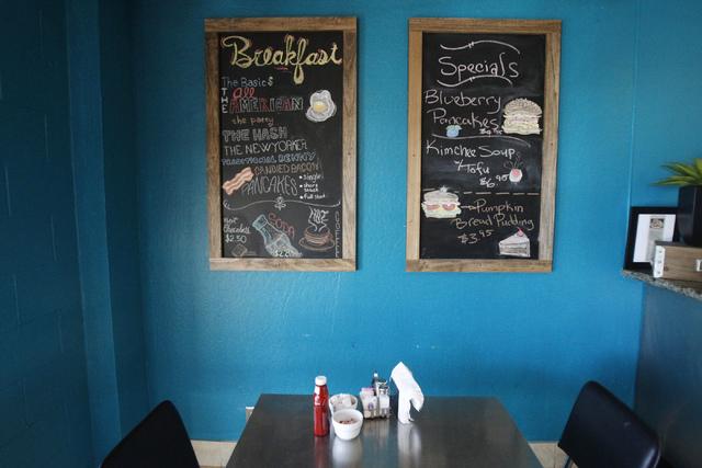 Kailyn's Diner, 3430 E. Tropicana Ave., in Las Vegas is seen on Sunday, Nov. 9, 2014. (Erik Verduzco/Las Vegas Review-Journal)